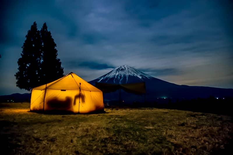 日本最大級のプライベート感を誇るお風呂が素晴らしいキャンプ場
