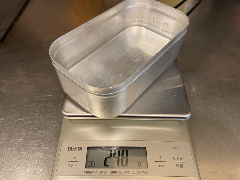 水の量は220~250mlが適量