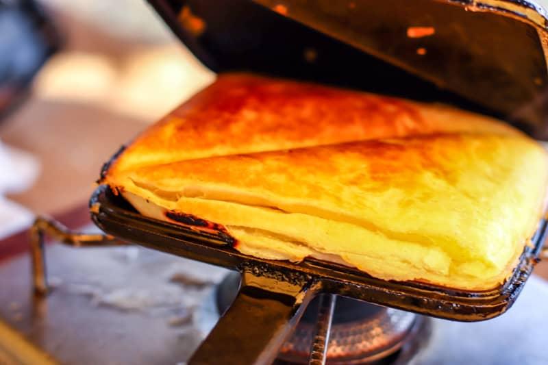 直火式ホットサンドメーカーで作るアップルパイが簡単なのに美味しくておすすめ!