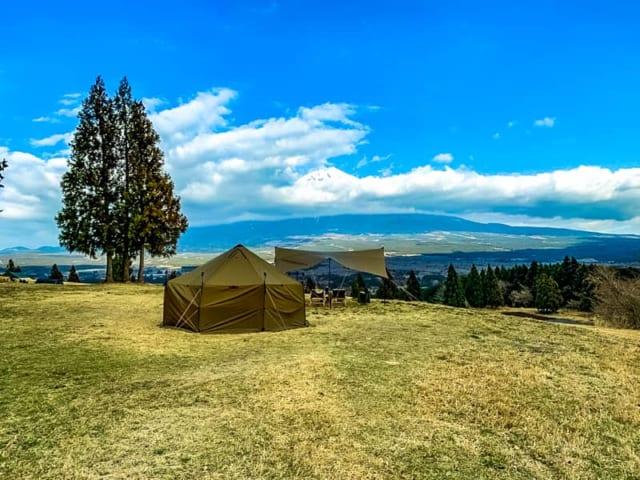 日本屈指のプライベート感を満喫できる富士山YMCAグローバルエコヴィレッジでキャンプしてきました
