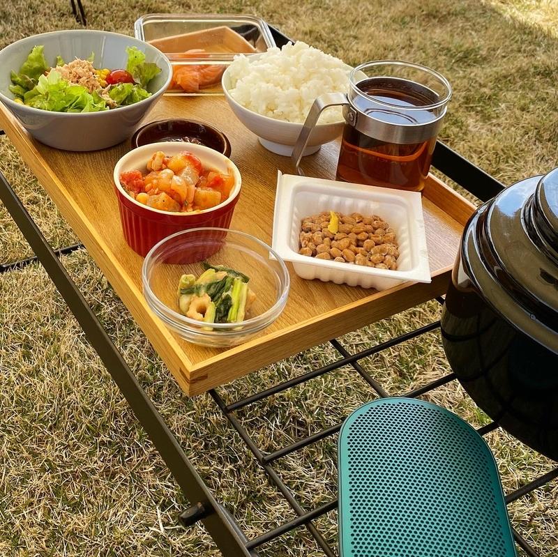 庭キャンプで食べるご飯は美味しい