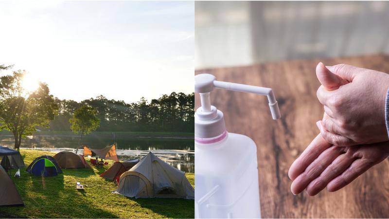 キャンプと新型コロナウイルスの感染リスクについて考えてみました。