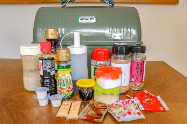 スタンレー×100均でつくるキャンプ調味料の収納術&持って行くアイテムを公開