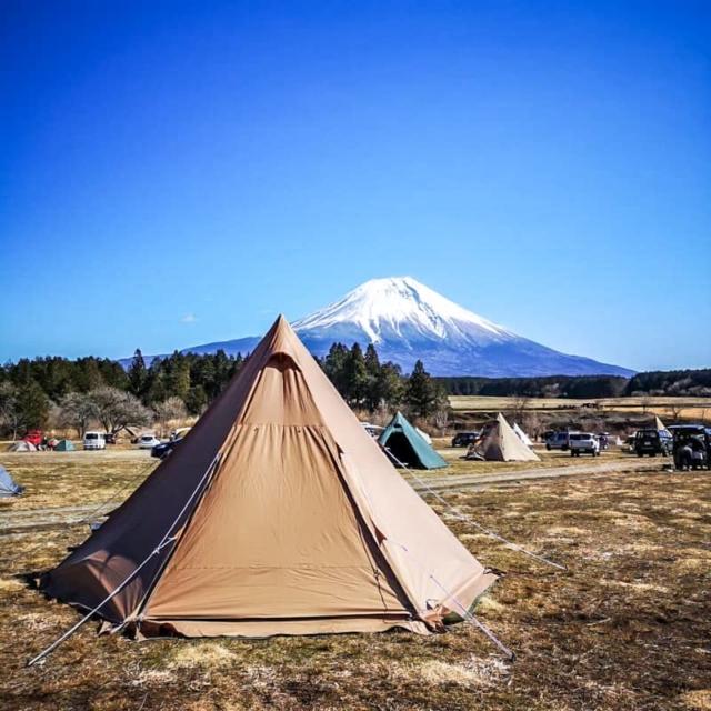 主婦キャンパーがふもとっぱらで初めてのソロキャンプに挑戦してみた