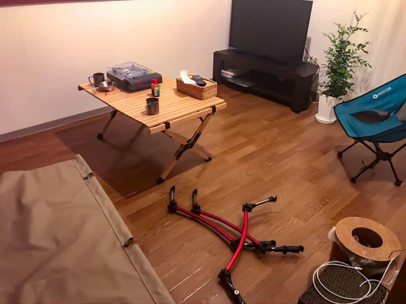 アパートでお家キャンプ (2)