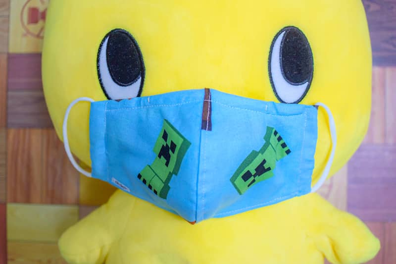 バランスの良い夏用マスクの完成