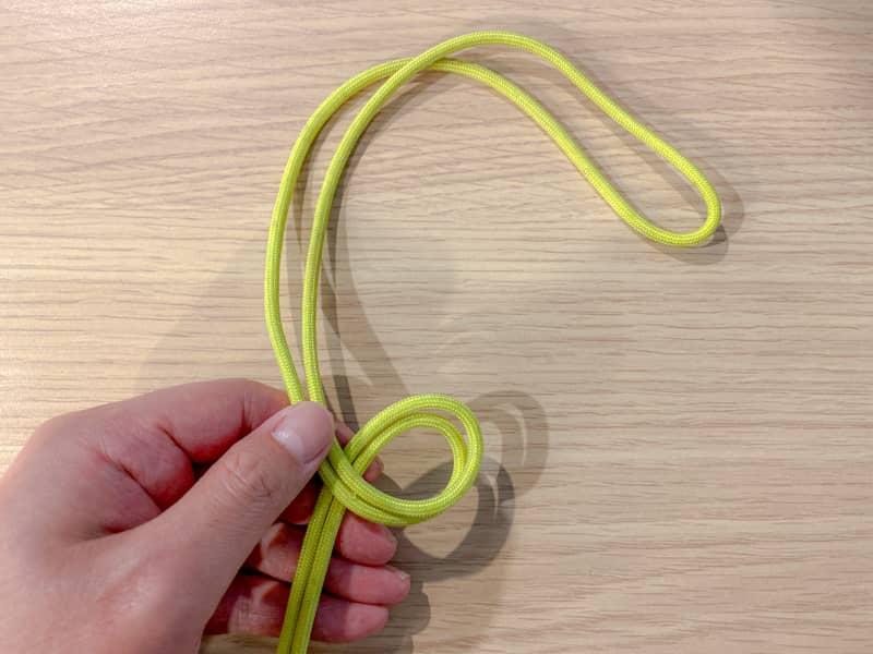 二重もやい結びの結び方-3