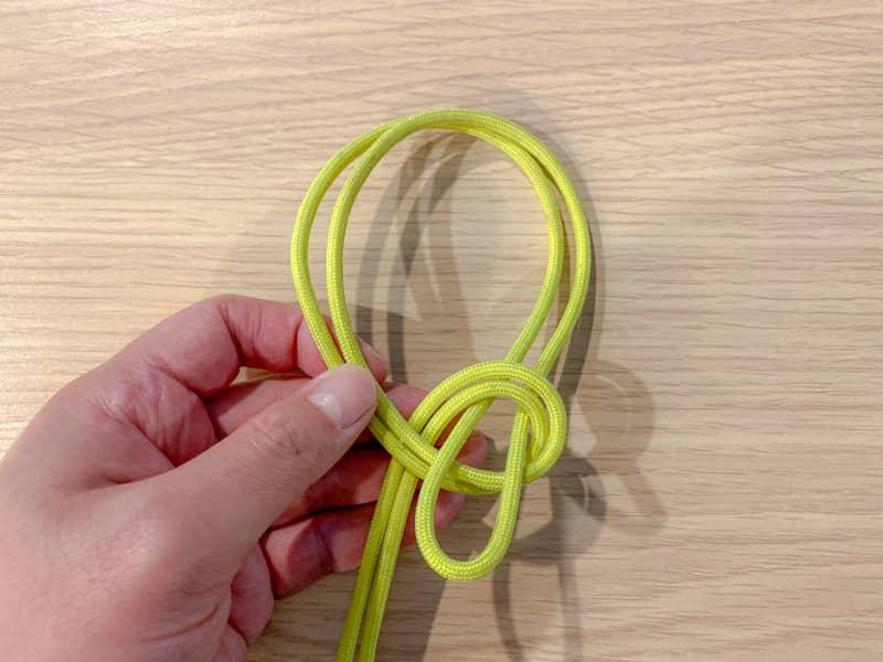 二重もやい結びの結び方-4