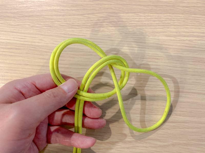 二重もやい結びの結び方-5