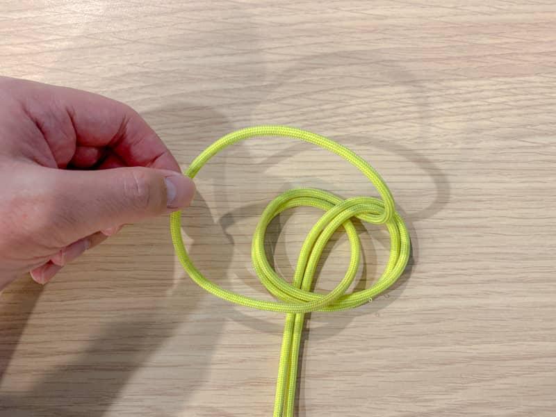 二重もやい結びの結び方-6