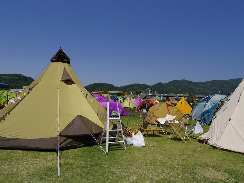 人が多すぎるキャンプ