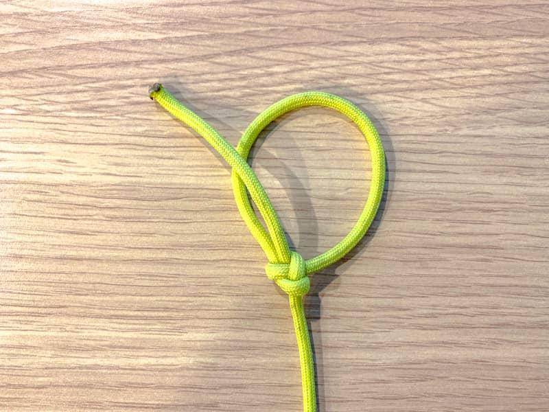 強化もやい結びVer.βの結び方-1