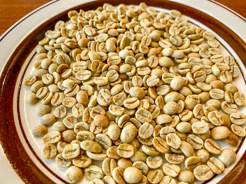 コーヒー生豆を手焙煎してオリジナル自家製コーヒーを飲んでみる