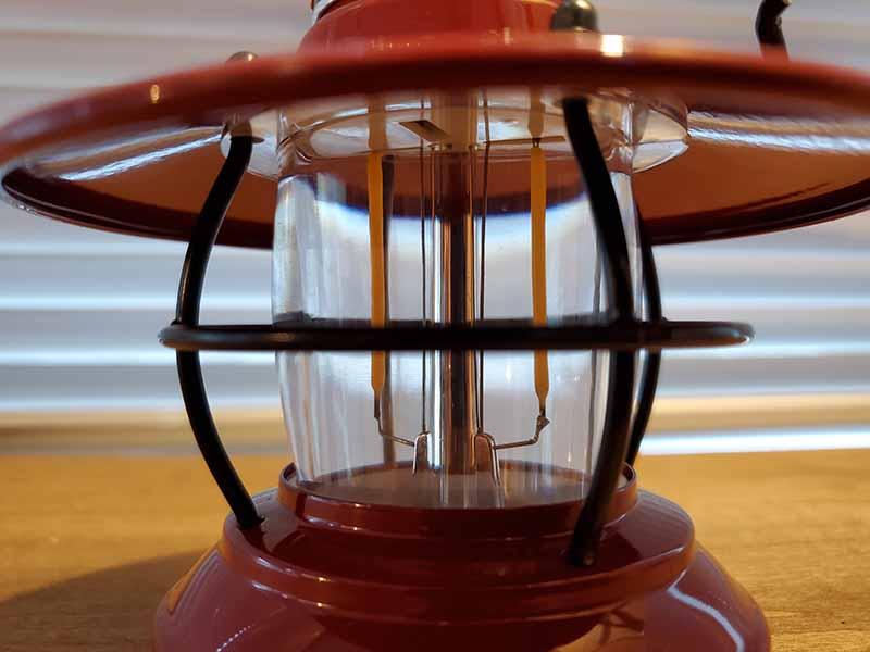 ミニエジソンランタンLEDの防水機能
