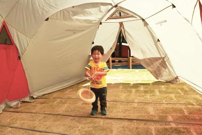 子供と初めてのキャンプ