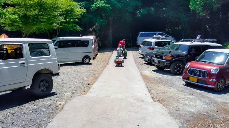 砂利サイトA駐車場
