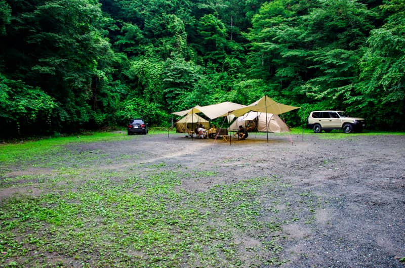 雨はキャンプ中止の理由にならない