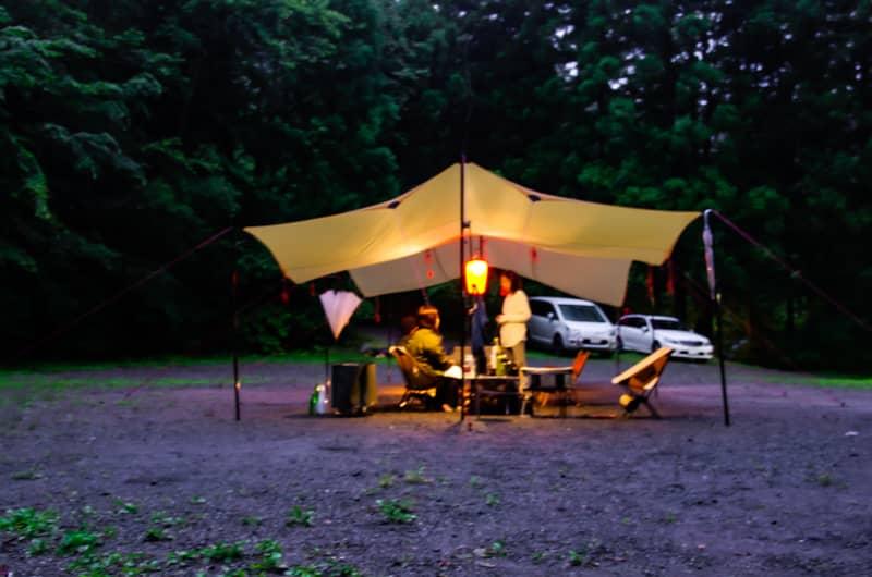 雨キャンプの楽しみ方