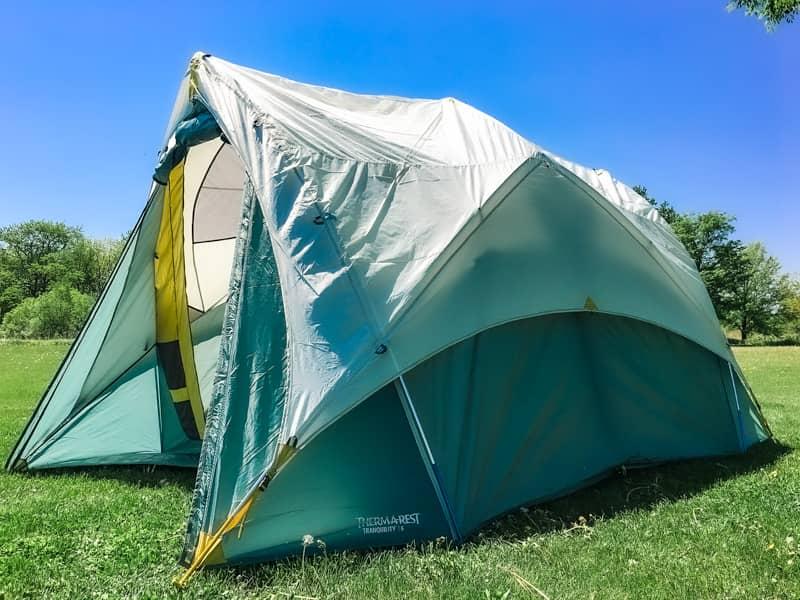 サーマレスト唯一のテント「Tranquility6」を設営してみたら満足度が想像以上でした