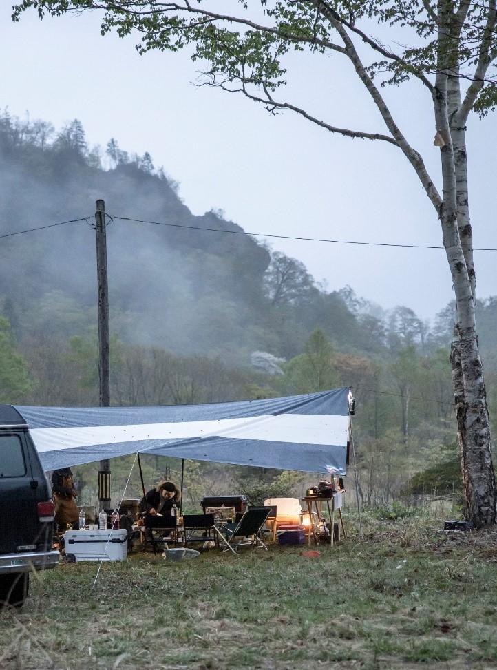 ASOBUでキャンプ