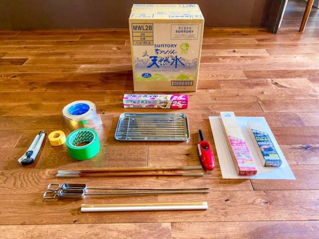 使い捨て段ボール燻製器を自作して室内で色んな食材を燻製してみた