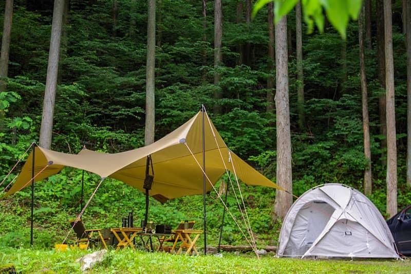 都内とは思えない自然豊かな穴場のキャンプ場「神戸園キャンプ場」へ行ってきました