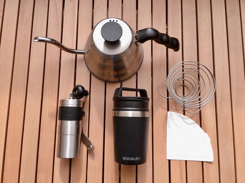 アウトドアのコーヒーグッズ