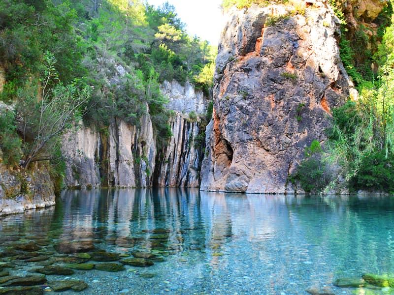 スペインの渓谷