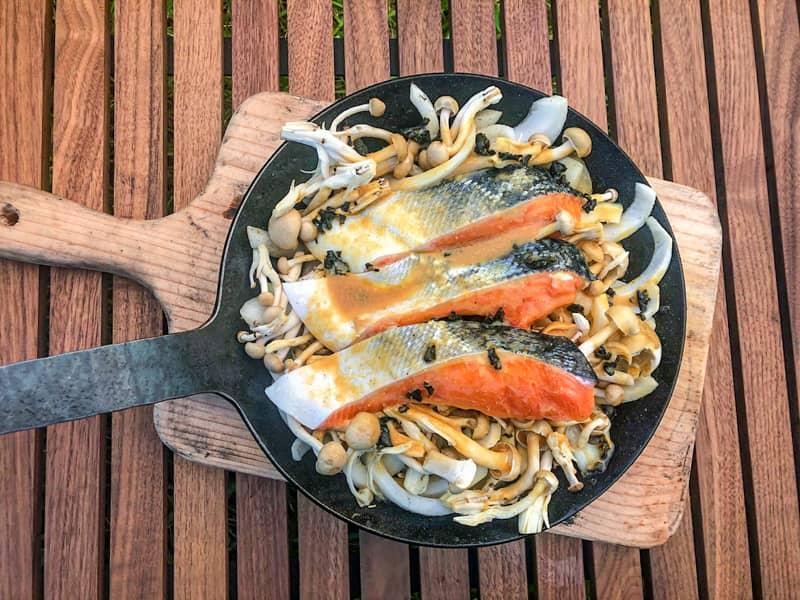 ターク・鮭料理