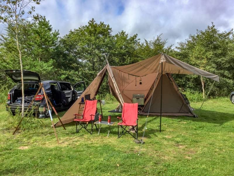 夏のキャンプは想像以上に暑くて大変です
