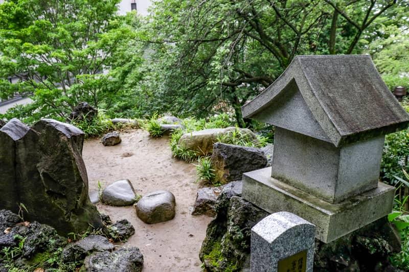 音羽富士の頂上