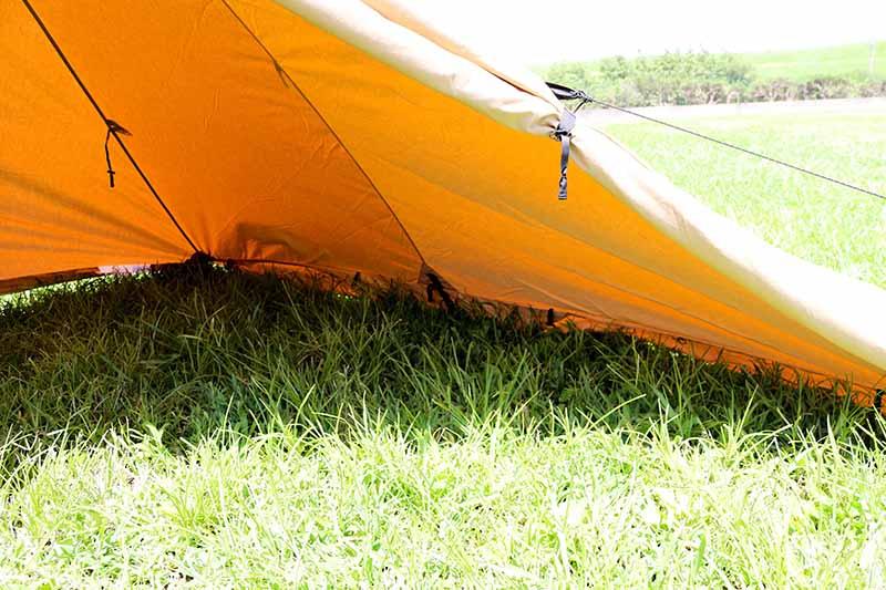 1-11スカート付きパンダTCのテント内側