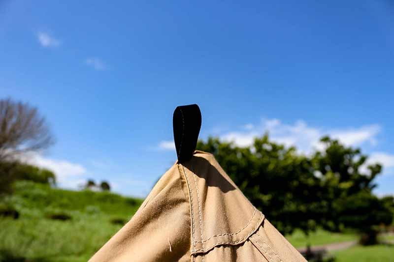 1-36スカート付きの新型パンダTCにパンタTCタープの連結準備