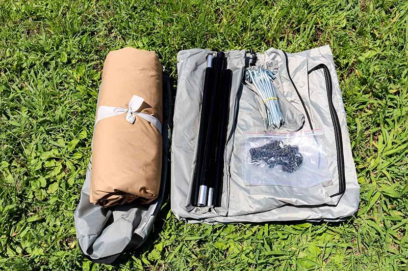 1-7スカート付きパンダTCの同梱品