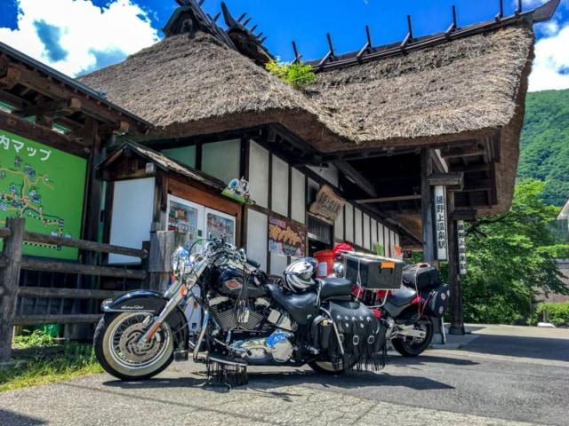 中三依温泉「みよりふるさと体験村」まで夏のツーリングキャンプしてきました