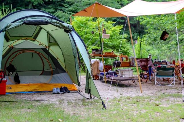 中央道おりて10分!長野県「弓の又キャンプ場」は川と星の綺麗な穴場キャンプ場です