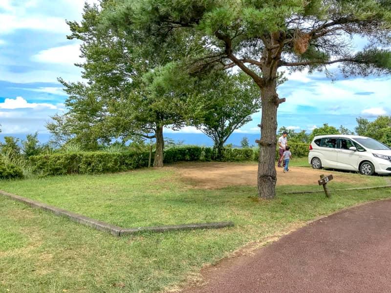 だるま山高原キャンプ場サイト18