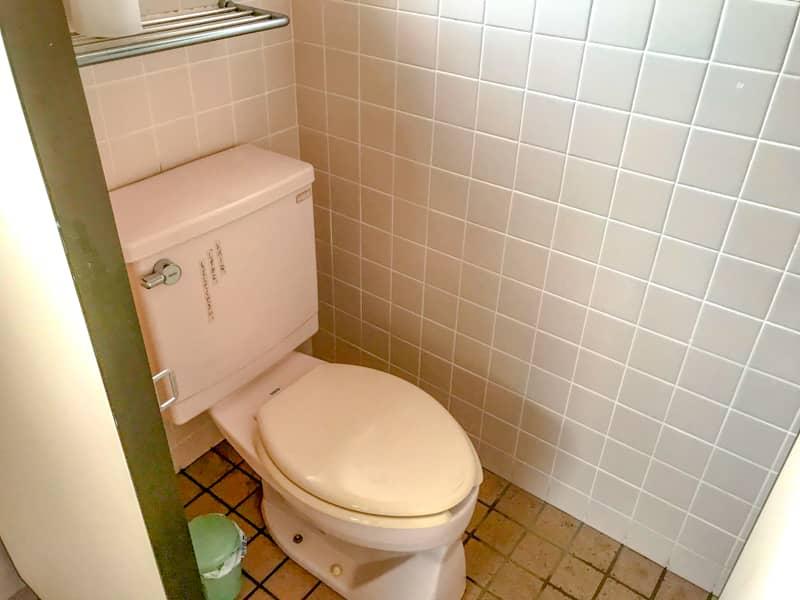 だるま山高原キャンプ場女子トイレ