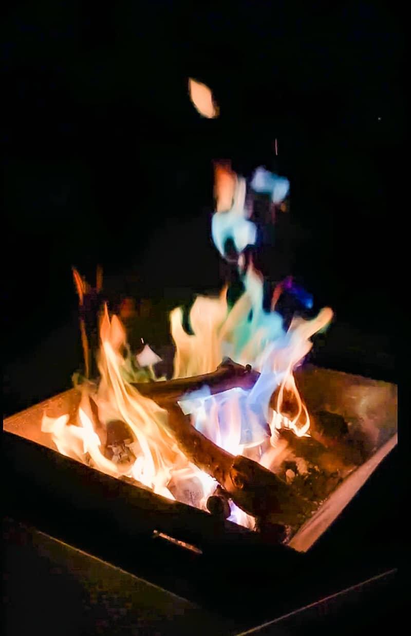 アートファイヤー焚き火