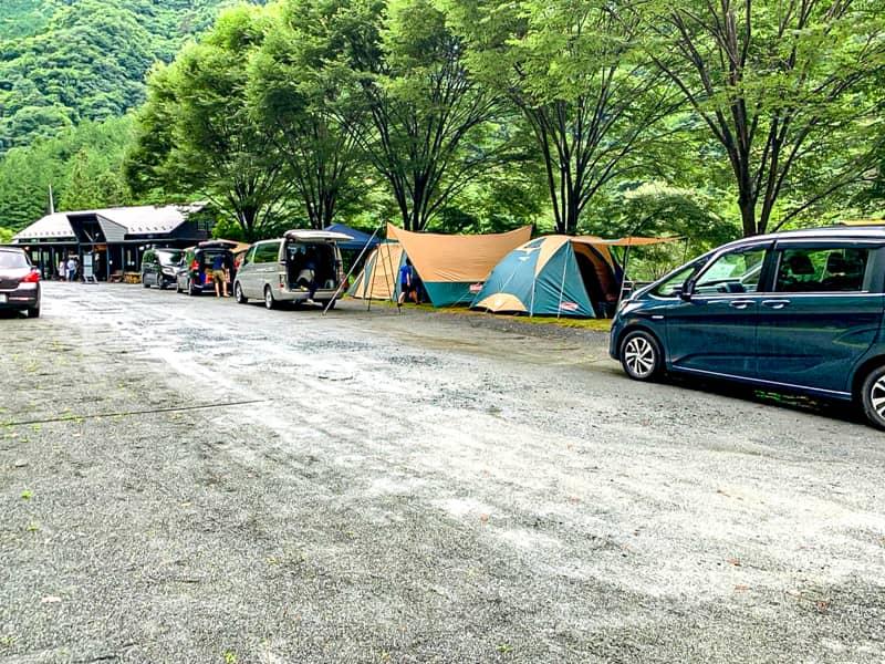 ウッドルーフ奥秩父オートキャンプ場の特記事項