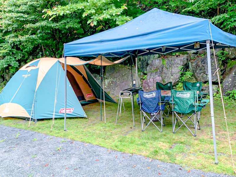 キャンプ未経験者の強い味方「楽々キャンプパック」