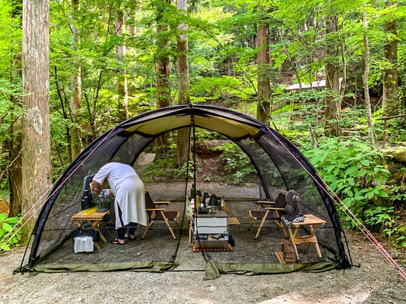 正直なところ人には教えたくなかったキャンプ場