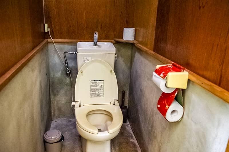 綺麗に掃除されたトイレ