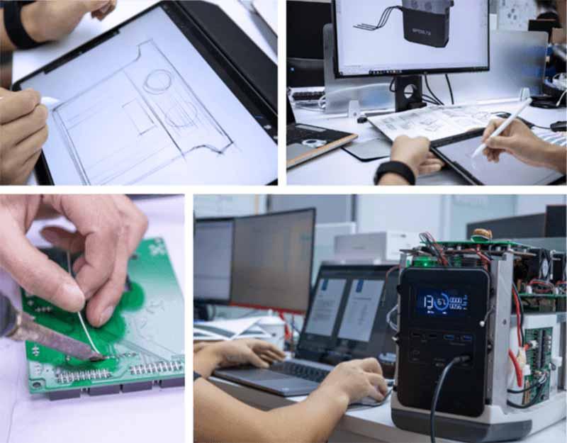EFDELTAの製造過程