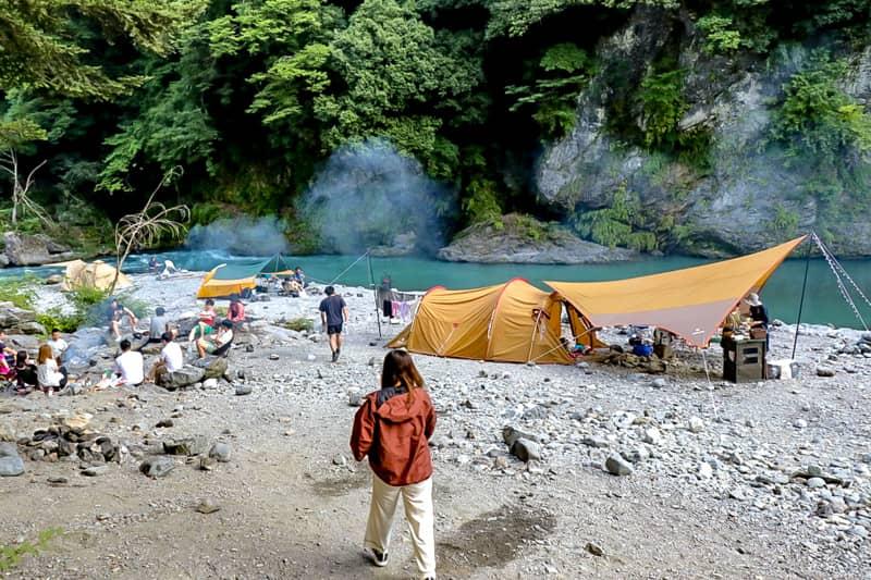 新宿から約1時間30分!奥多摩で人気の氷川キャンプ場に行ってきた!