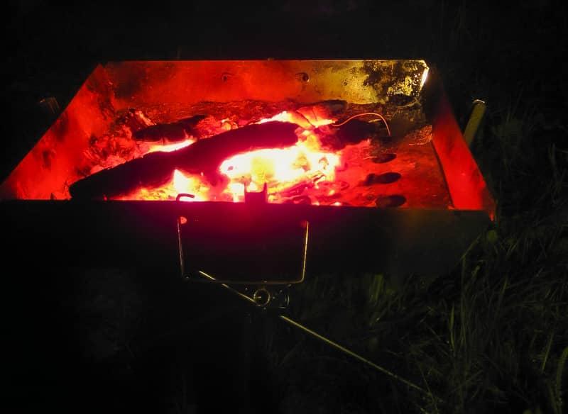 おとなの焚火