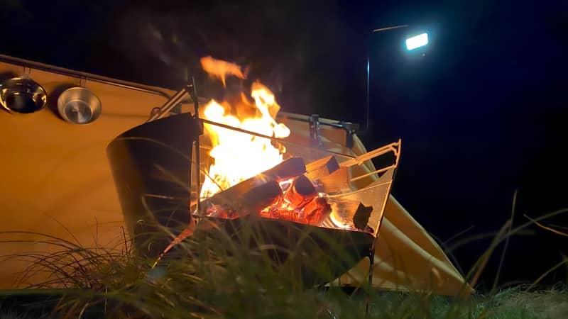 MAAGZの多次元焚き火台RAPCA(ラプカ)をキャンプで使って感じた本音レビュー