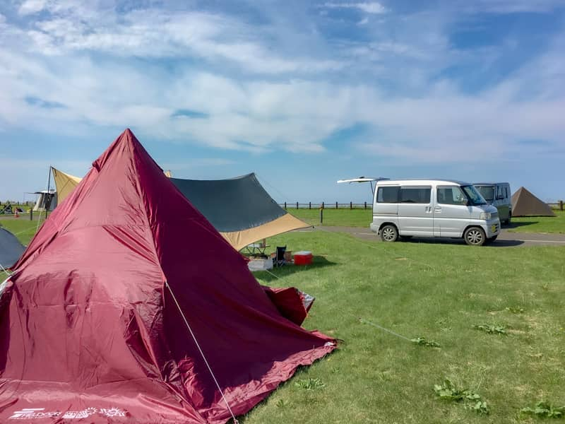 オートキャンプサイトB