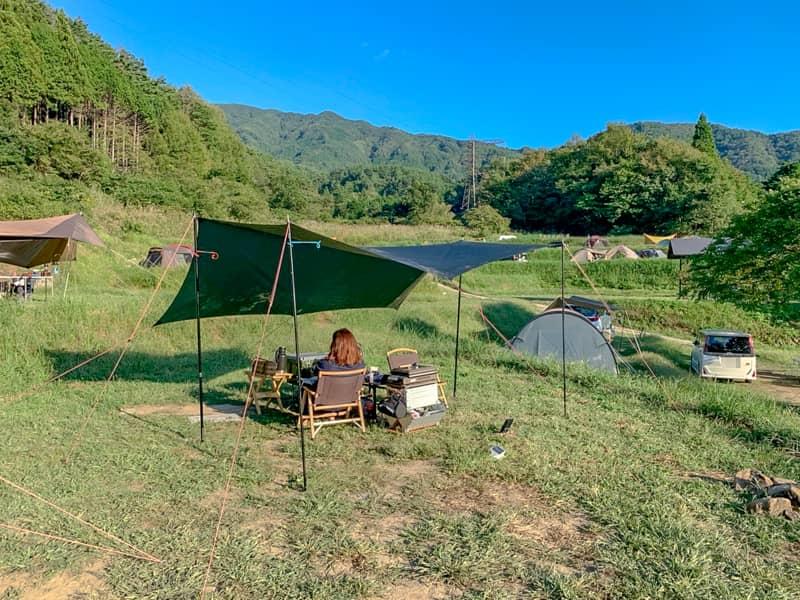 キャンプ未経験者からベテランまで大満足のキャンプ場