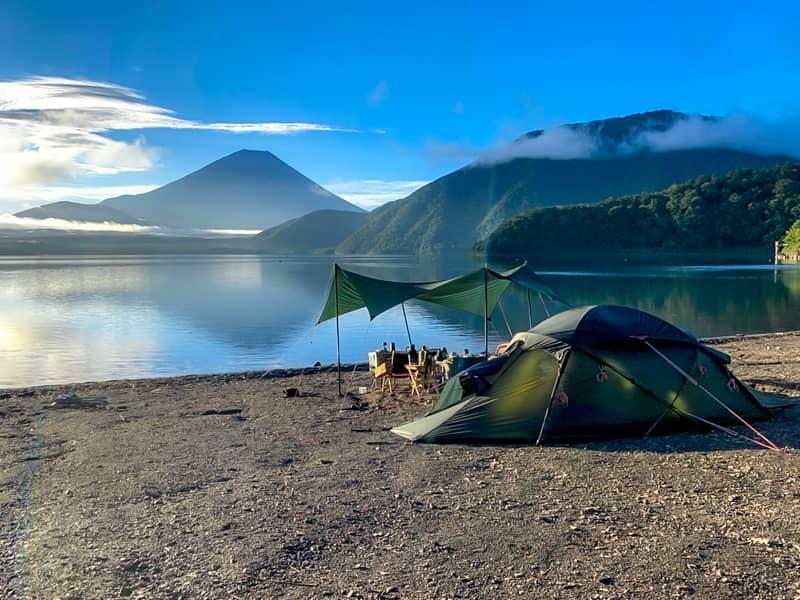全くゆるくはない日本屈指の絶景キャンプ場